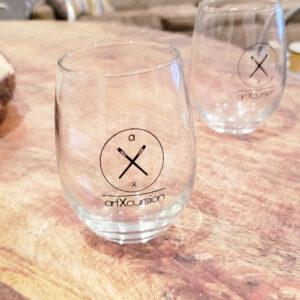 ArtXcursion Wine Glasses