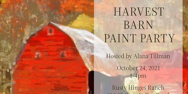 Barn Paint Party
