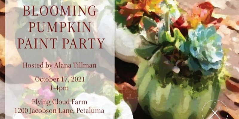 Blooming Pumpkin Paint Party