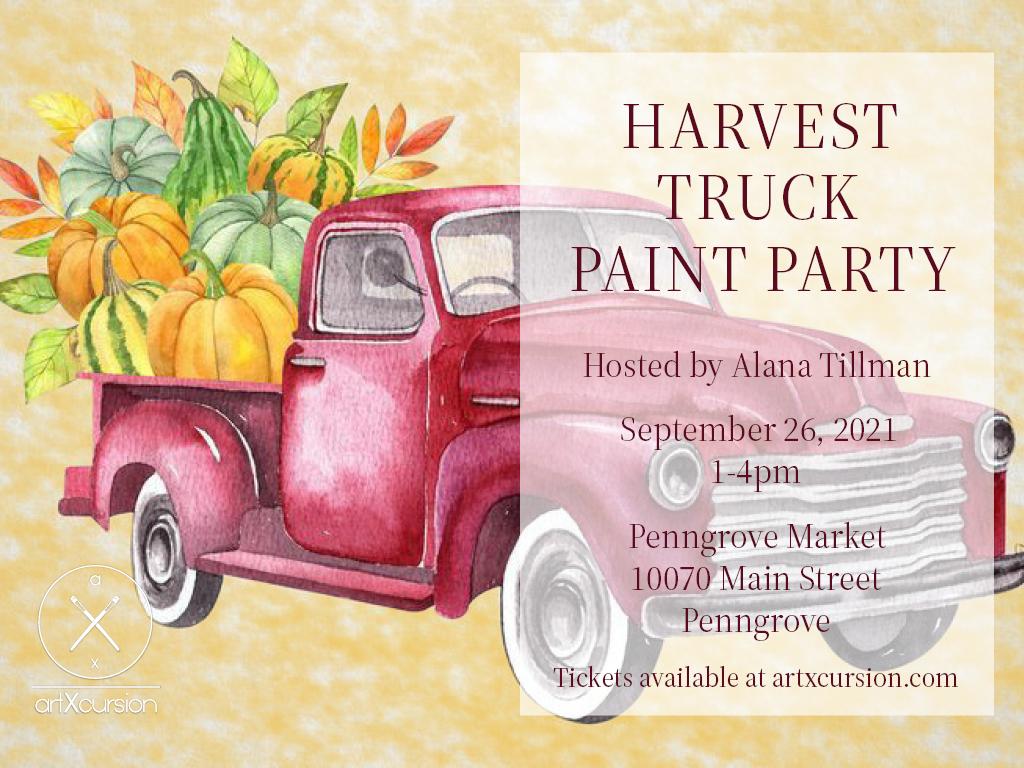 Harvest Trunk Paint Party